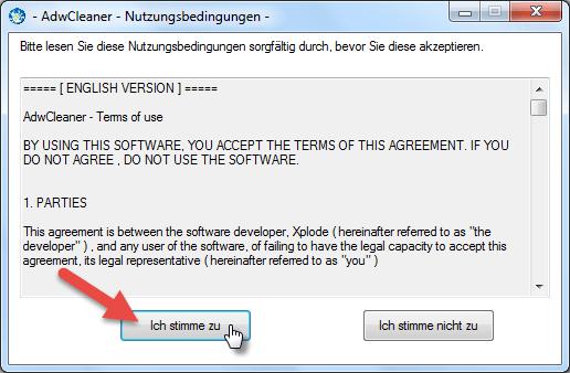 Lizenz akzeptieren